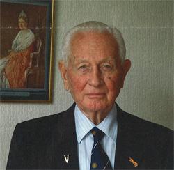 Kees Oversier op 88-jarige leeftijd. Foto: Brigit de Roij
