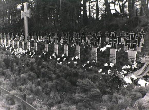 Duitse graven aan de Kerkhoflaan