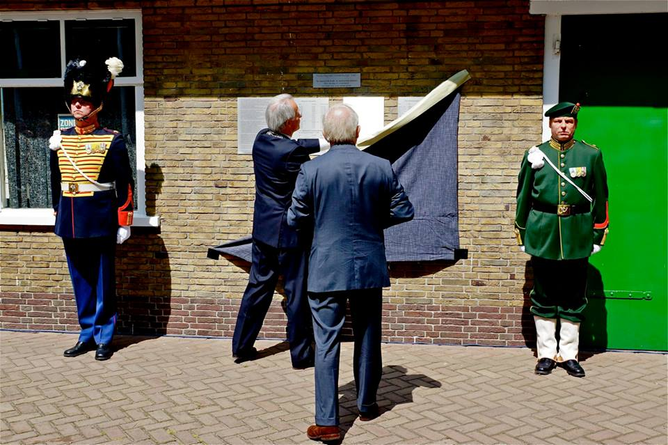 Onthulling plaquettes 13 juli 2013